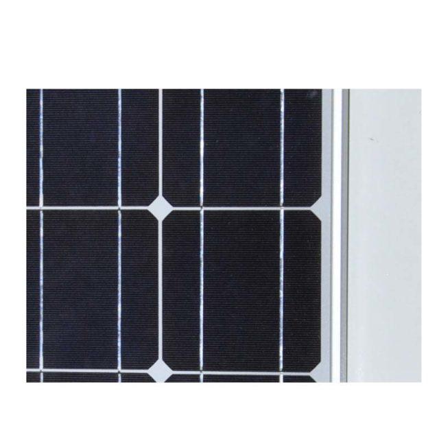 100W 12V Mono PV Solarmodule Solarpanel for RV Car Boat Camping Home Garden