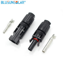 Pair of MC4 Cable Connectors (male and female) for Solar Panels and Photovoltaic Systems